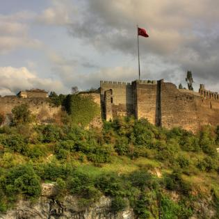 Trabzon'un En Eski Bizans Mimarisi: Trabzon Kalesi
